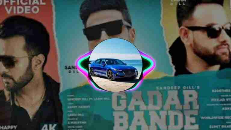 GADAR BANDE SANDEEP GILL LYRICS