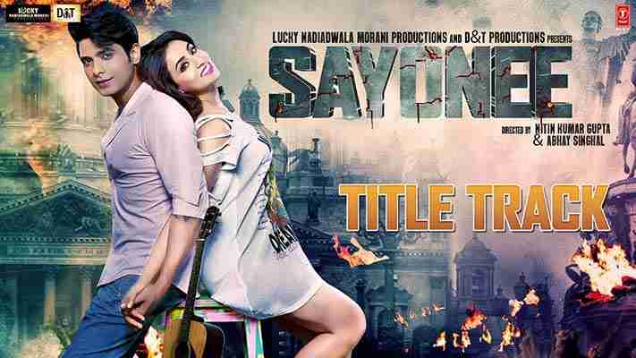 Sayonee Title Track lyrics Hindi