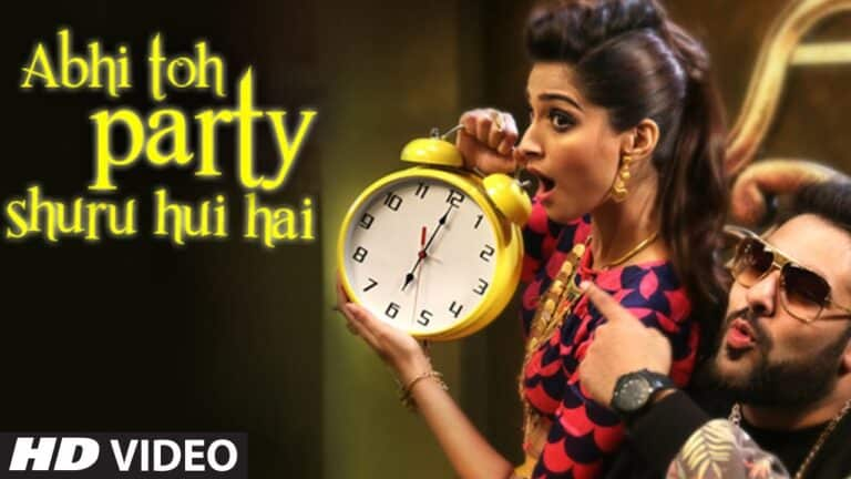 abhi to party shuru hui hai Hindi Lyrics BadshahAastha Gill